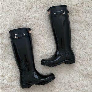 NWB  hunter original haze Gloss Rain boots